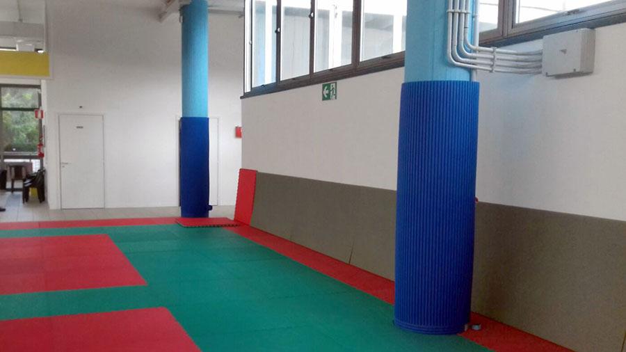 Judo school columns